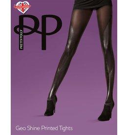 Pretty Polly Geo Shine Print Panty
