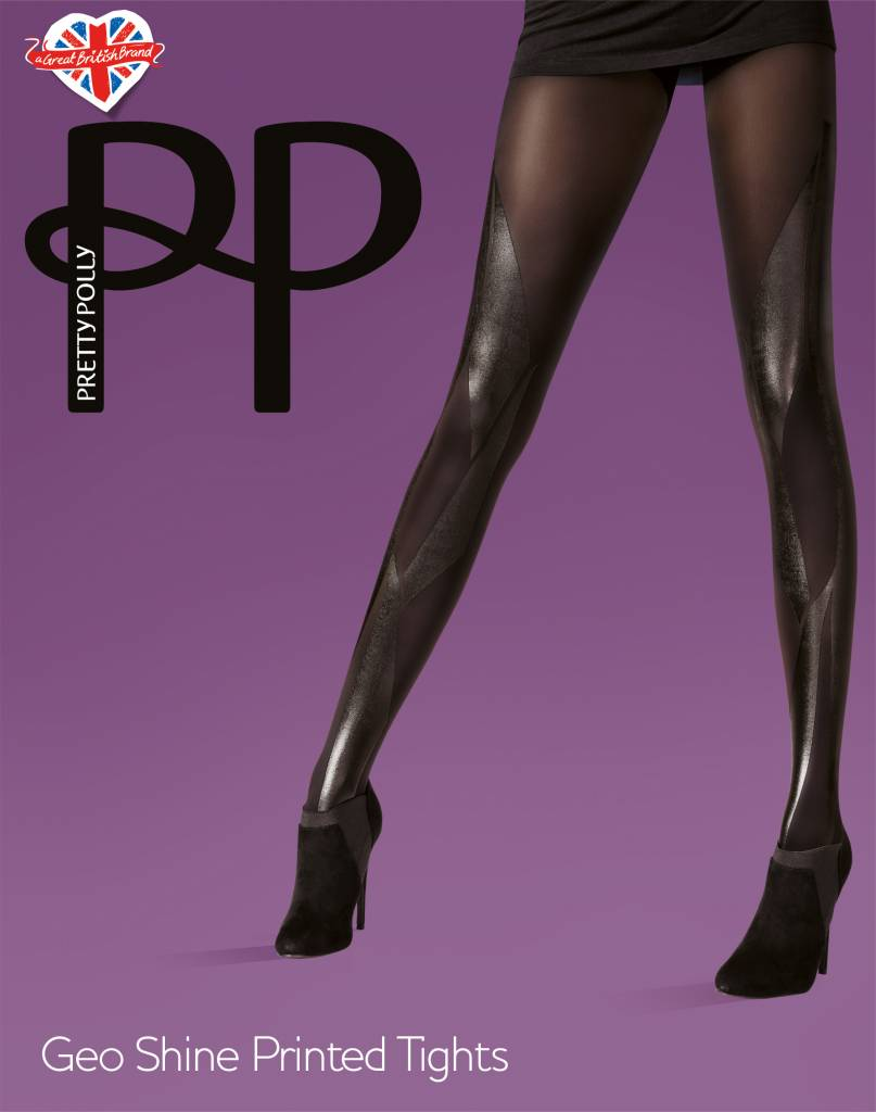 Pretty Polly Geo Shine Print Tights