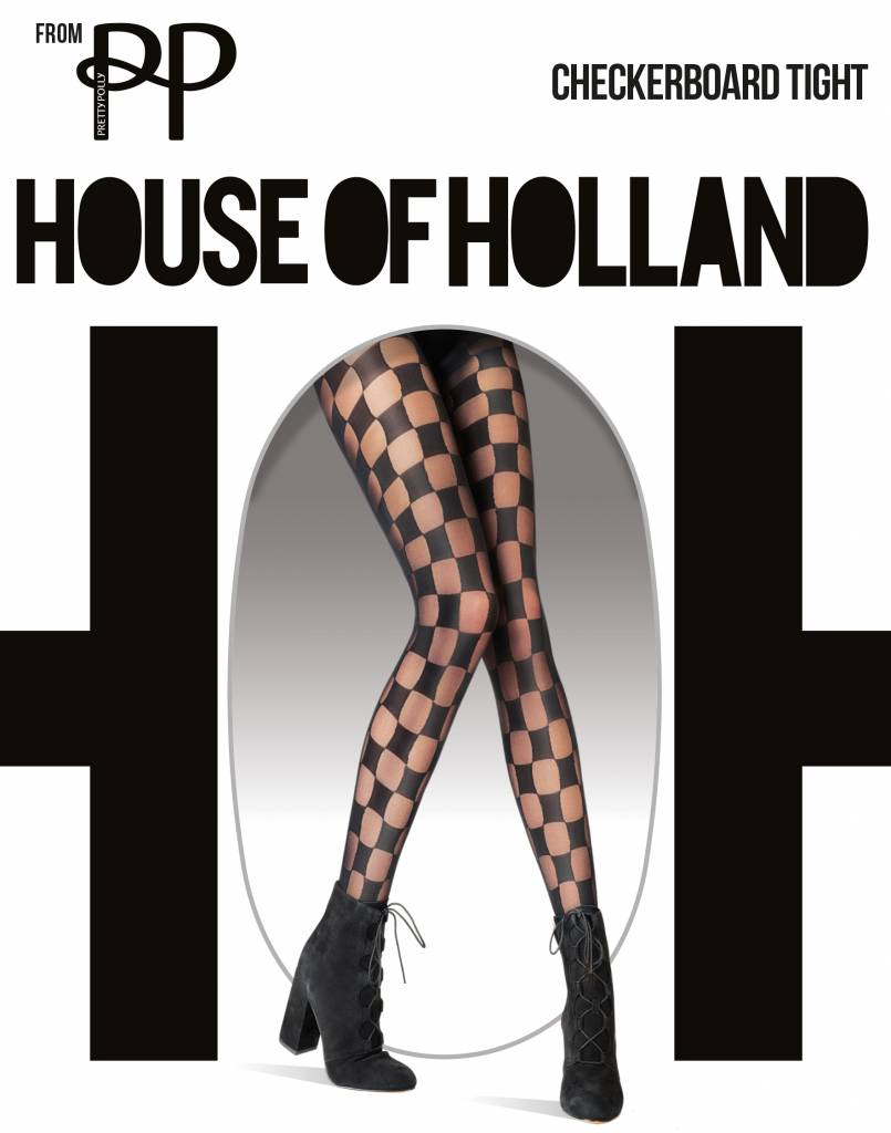 House of Holland Checkerboard Panty