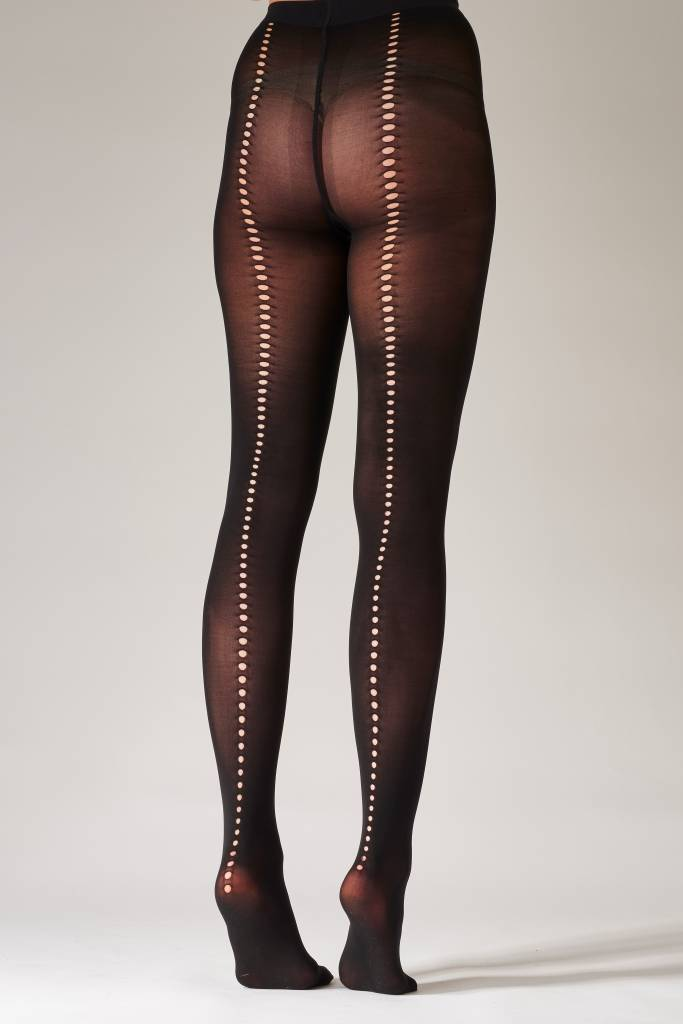 Pretty Polly Cut out Backseam Tights