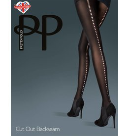 Pretty Polly Cut out Backseam Panty