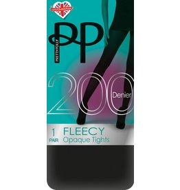 Pretty Polly 200D. Fleecy Panty