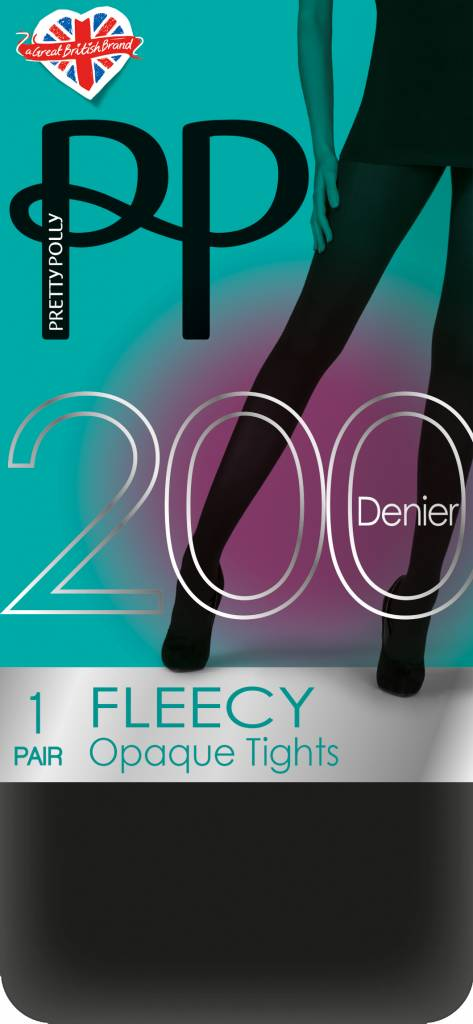Pretty Polly 200D. Fleecy Tights