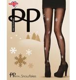 Pretty Polly Kerst panty Sneeuwvlokken
