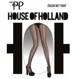 House of Holland Zig Zag Net Panty