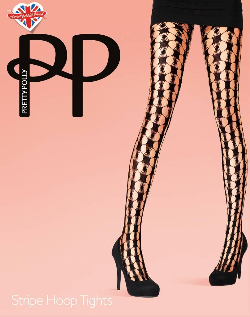 Pretty Polly Stripe Hoop Net Panty