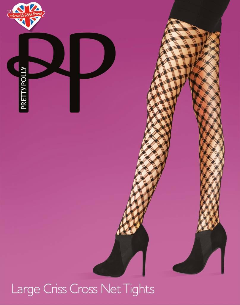Pretty Polly Large Criss Cross Net Panty