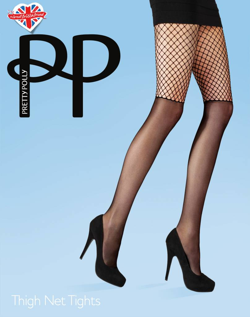 Pretty Polly Thigh Net Panty van Pretty Polly