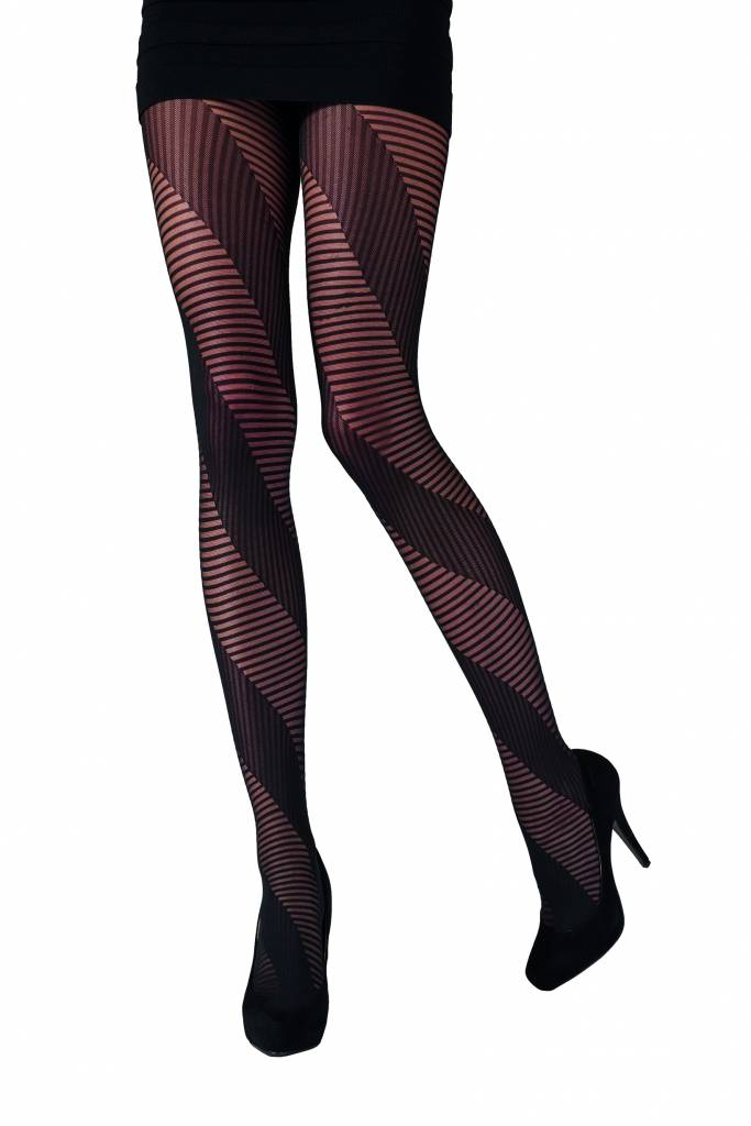 Pretty Polly Spiral Stripe Panty