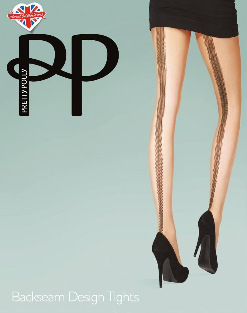 Pretty Polly Backseam Design Tights