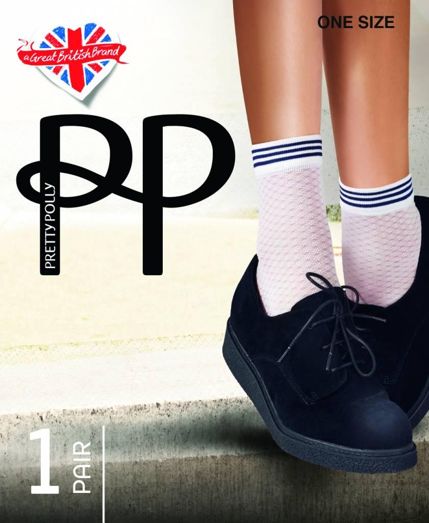 Pretty Polly Diamond Mesh sokjes