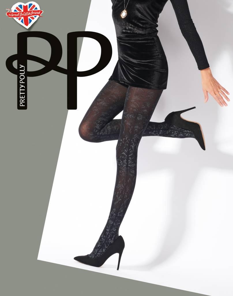 Pretty Polly Silver Print Panty