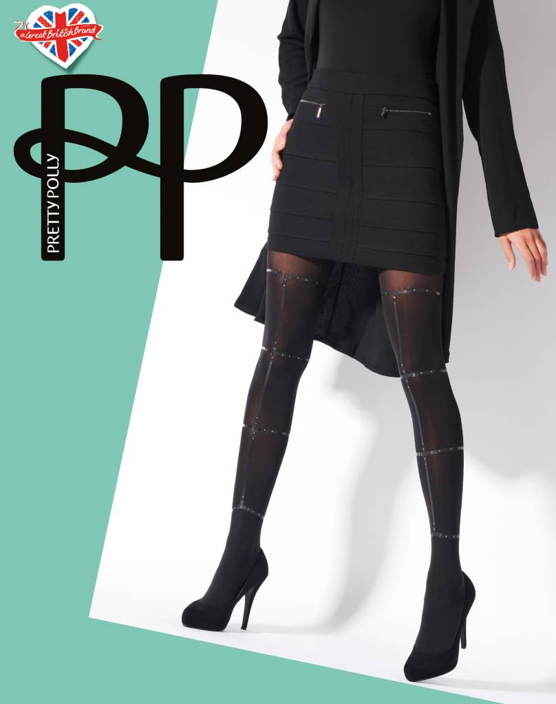 Pretty Polly Strappy Print Tights
