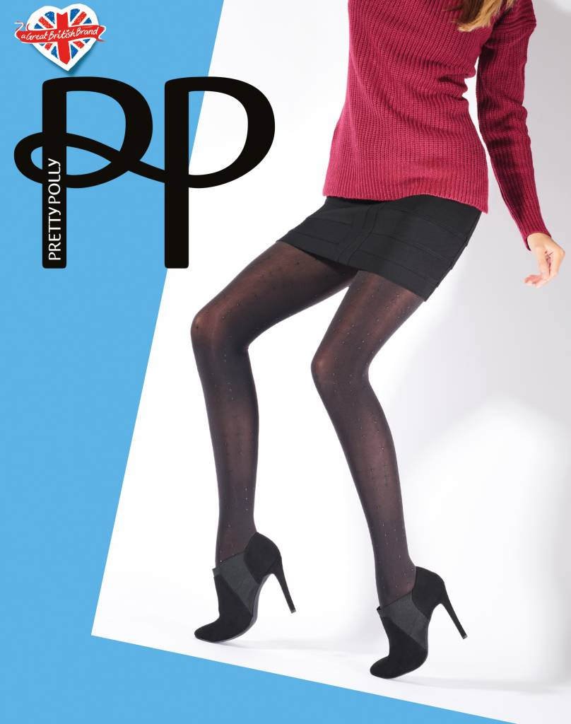 Pretty Polly Dot Print Panty met innovatieve kleine stippen.