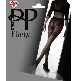 Pretty Polly Backseam Tights with Body detail