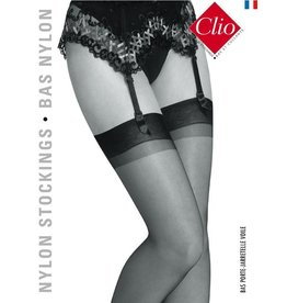 Clio 15D. Nylon suspender Stockings