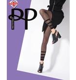 Pretty Polly Stripe Net Footless Legging
