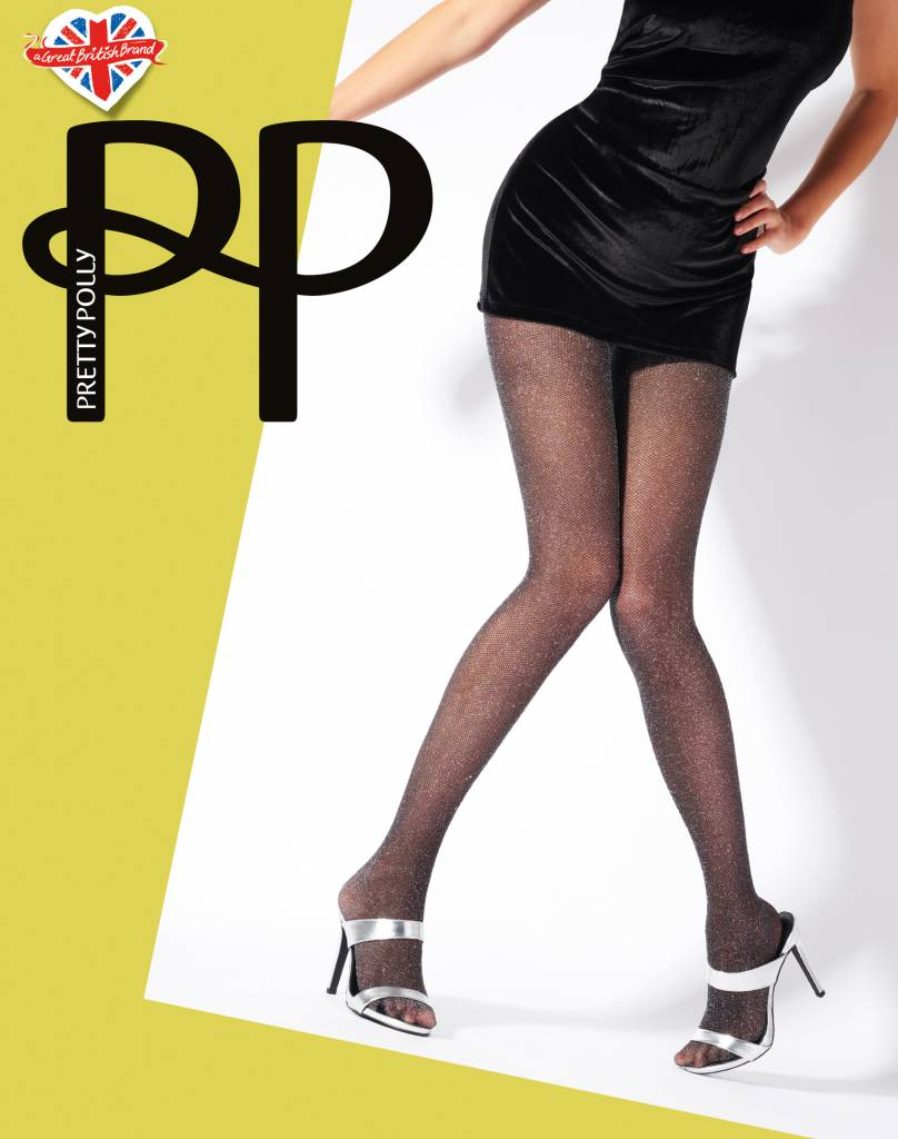 Pretty Polly Lurex Mesh panty