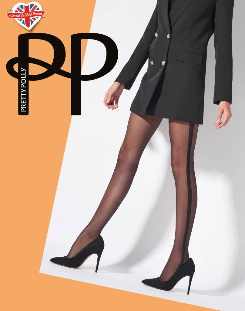 Pretty Polly Side Stripe Sheer Panty