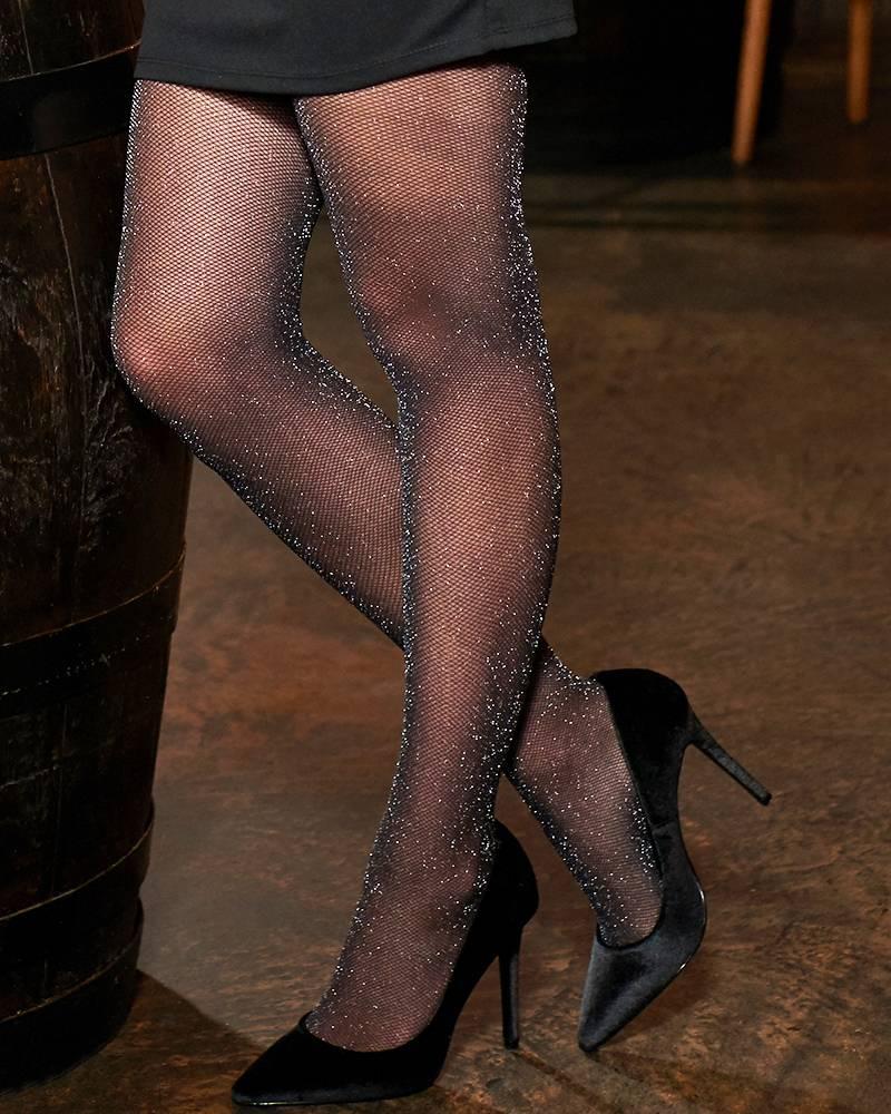 Pretty Polly Lurex Mesh panty