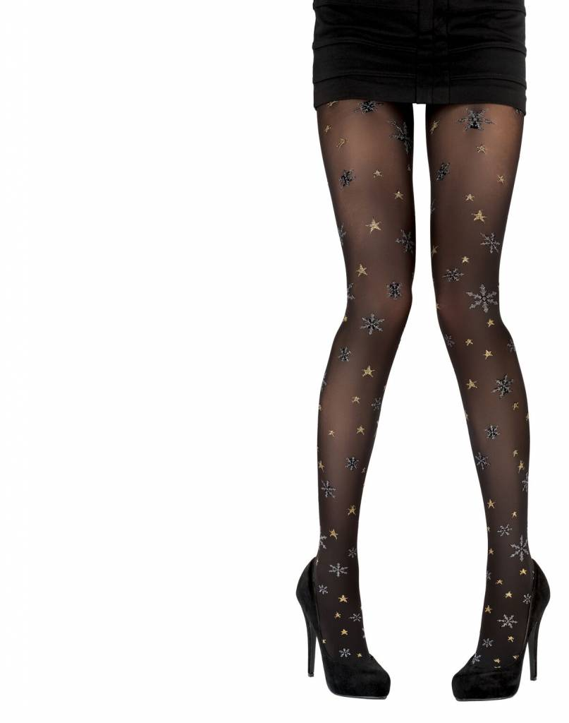 Pretty Polly Snowflake Star Tights