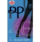 Pretty Polly 40D. Opaque Panty