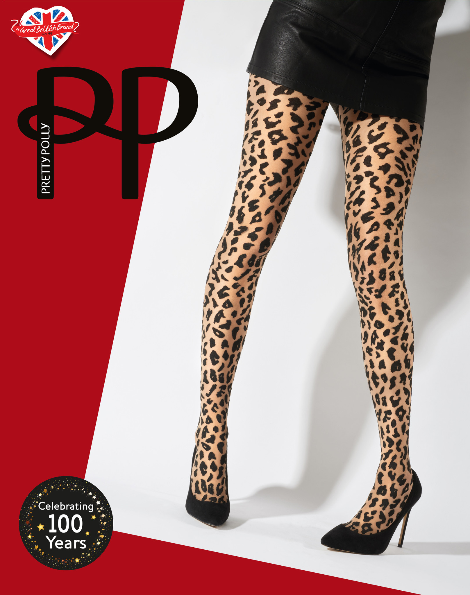 Pretty Polly Pretty Polly Animal Desigh Tights