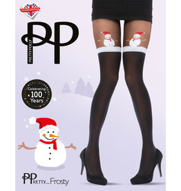 Pretty Polly Pretty Snowman Mock Hold Up panty