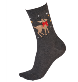 Pretty Polly Reindeer Sock