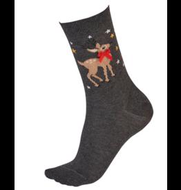 Pretty Polly Reindeer Sock