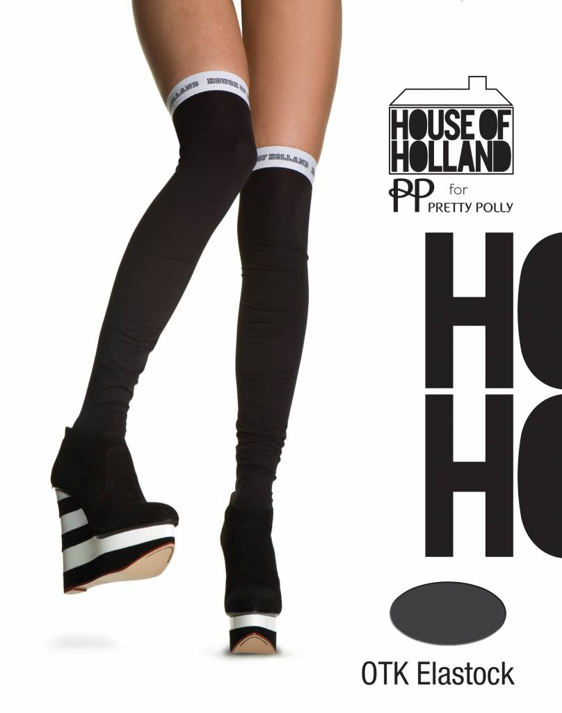 House of Holland Over The Knee Elastock