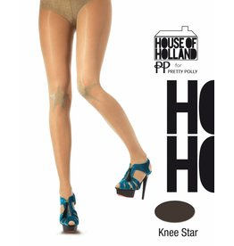 House of Holland Lurex star on the Knee Panty