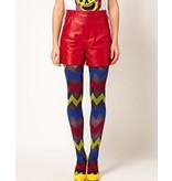House of Holland Zig Zag Tights