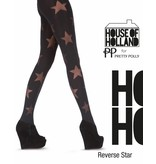 House of Holland Reverse Star Tights