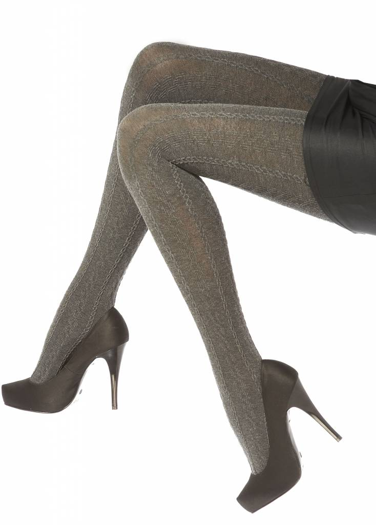 Pretty Polly Opaque Cable Tights
