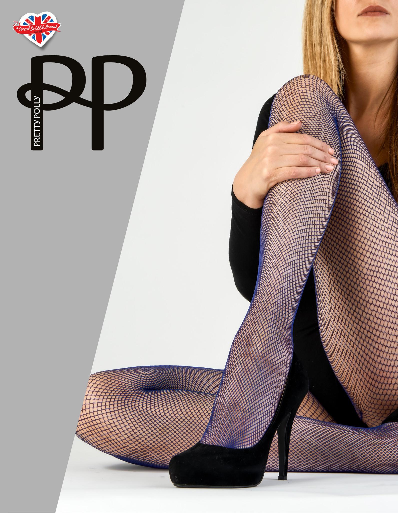 Pretty Polly Pretty Polly Coloured Fishnet Panty - One Size