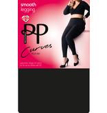 Pretty Polly Pretty Polly Curves zwarte legging plus size - Zwart