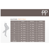 Pretty Polly  Pretty Polly Tulle Naad Zwarte Panty - One Size