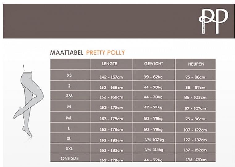 Pretty Polly Pretty Polly Sheer Geo Panty - Zwart - One Size