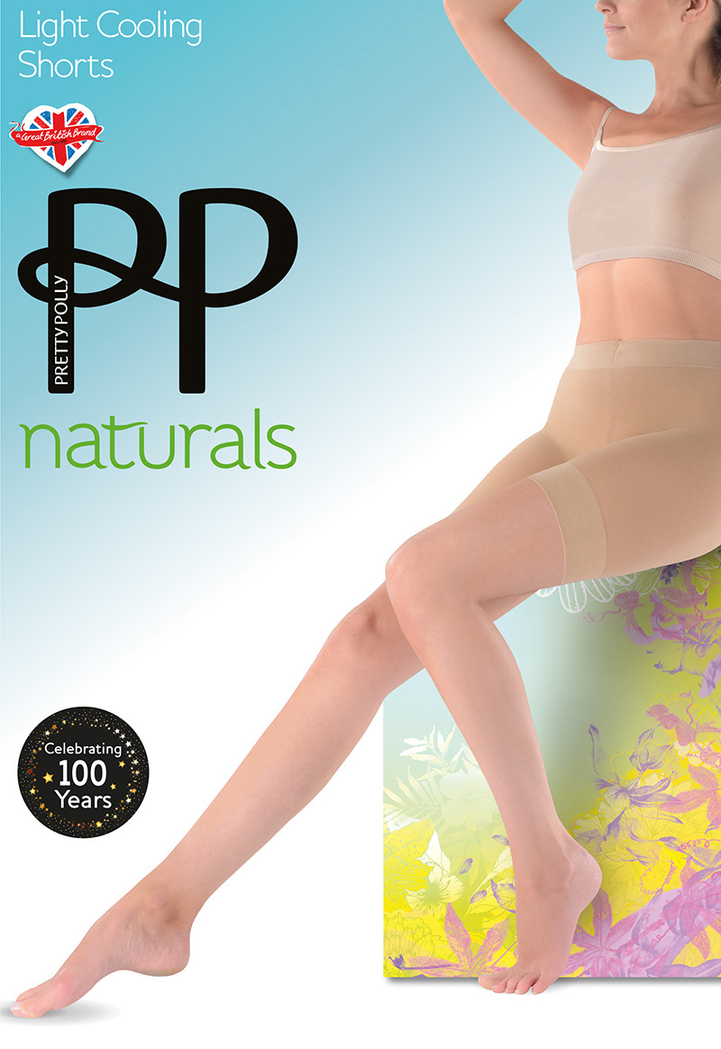 Pretty Polly Naturals Lights Cooling Shorts