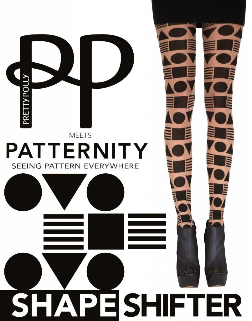 Patternity Patternity All over Shape Design Tights