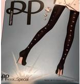 Pretty Polly Pretty Polly Special Tights met Swarovski naad