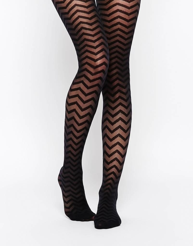 House of Holland House of Holland Zig Zag Tights