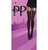Pretty Polly Pretty Polly Opaque Chain Suspender Tights