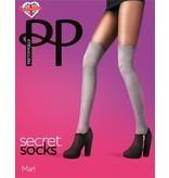 Pretty Polly Marl Secret Sock Tights