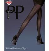 Pretty Polly Printed Backseam Tights