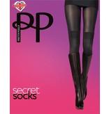 Pretty Polly Pretty Polly Secret Socks Tights _2 in 1