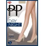 Pretty Polly 15 Denier Sheer panty's in  3 paar verpakking