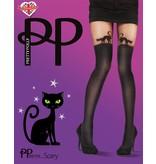 Pretty Polly  Scary 60 denier Kat over de knee panty.