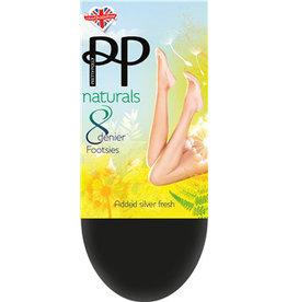 Pretty Polly 11 Den.Naturals Footsies (kousenvoetjes)